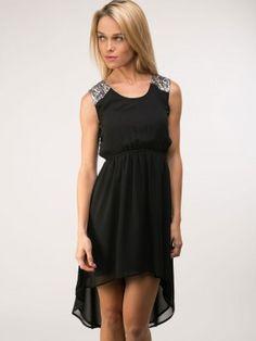 d2ba26d3828 Femella Sequin Shoulder High Low Dress Hi Low Dresses