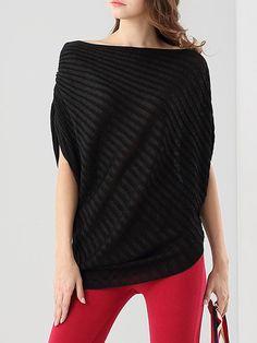 Shop Tunics - Yellow Plain Casual Asymmetrical Slash Neck Tunic online. Discover unique designers fashion at StyleWe.com.