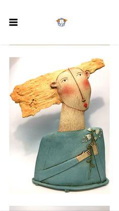 Pottery Sculpture, Sculpture Clay, Soft Sculpture, Ceramic Sculptures, Ceramic Figures, Clay Figures, Ceramic Art, Slab Pottery, Pottery Art