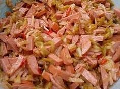 Czech Recipes, Ethnic Recipes, New Menu, Potato Salad, Cabbage, Appetizers, Food And Drink, Vegetables, Cooking