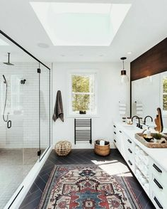 Bathroom Inspiration // The Perfect Scandinavian Style Home Interior Exterior, Bathroom Interior Design, Decor Interior Design, Interior Decorating, Luxury Interior, Scandinavian Style Home, Minimalist Scandinavian, Scandinavian Bathroom, Sweet Home