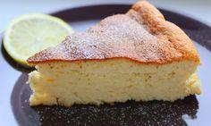 Medový koláč s citronem