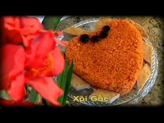Xoi Gac - Xuan Hong - YouTube Vietnamese Cuisine, Vietnamese Recipes, Asian Desserts, Dessert Drinks, Yummy Food, Foods, Cooking, Youtube, Collection