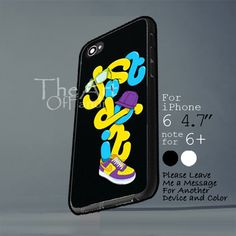 nike just do it with shoes Iphone 6 note for  6 Plus