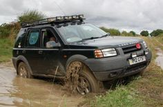 My freelander in the Yorkshire wolds
