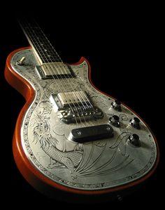 Custom Electric Dragon Guitar
