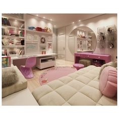Beautiful Teen Girls Bedroom Ideas found on Polyvore I would love my room to look like this(: