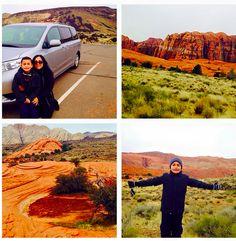Desde Snow Canyon State Park en Utah #HolidayRoadTrip #Vayamosjuntos @toyotausa #DepaseoconMama