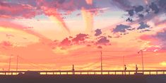 """"""" """"The rips in the sky that make us think there's something, like, beyond what we know are just. Aesthetic Gif, Aesthetic Backgrounds, Aesthetic Pictures, Aesthetic Wallpapers, Anime Gifs, Anime Art, Wattpad, Anime Scenery Wallpaper, Gif Animé"""