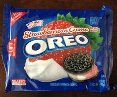 $6.50 Nabisco Strawberries N' Creme Oreo Cookies LIMITED EDITION 15.25 oz Package YUM