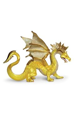 Safari Ltd. Golden Dragon Figurine | Nordstrom