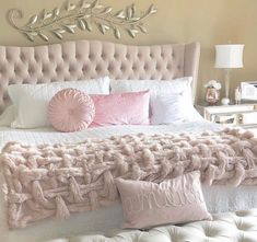 38 cozy home decorating ideas for girls bedrooms 6 Cute Bedroom Ideas, Cute Room Decor, Room Decor Bedroom, Home Bedroom, Girls Bedroom, Master Bedroom, Modern Bedroom, Cozy Home Decorating, Decorating Ideas