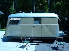 Vintage traileritis 1938 covered wagon