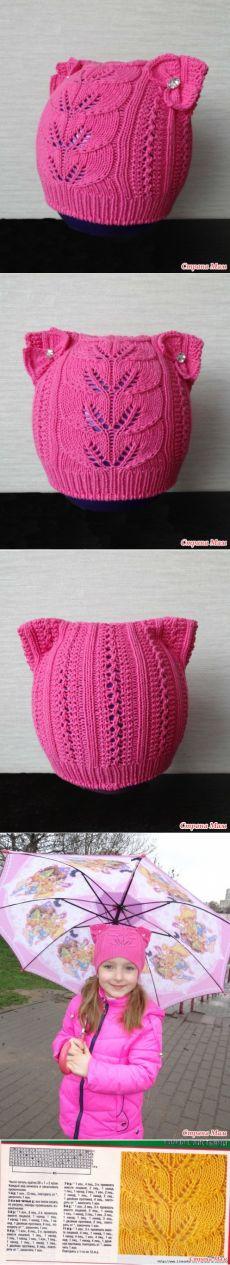 Ажурная шапочка моей принцессе - Вязание для детей - Страна Мам