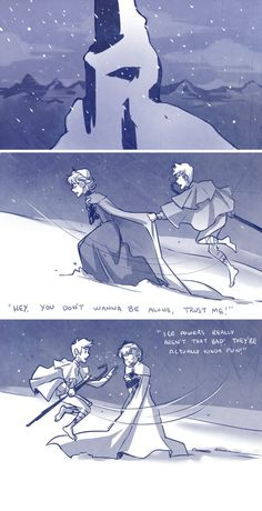 ...LOVE Jack Frost and Elsa