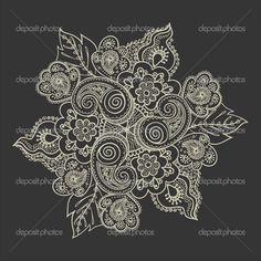 lace mandala tattoo   Found on weheartit.com