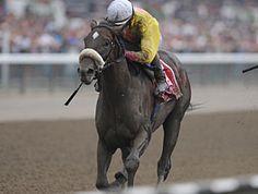 Grace Hall winning the Spinaway Stakes (USA-G1) (photo: Coglianese Photos/NYRA)