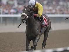 Grace Hall winning the Spinaway Stakes (USA-G1) (photo: Coglianese Photos/NYRA)