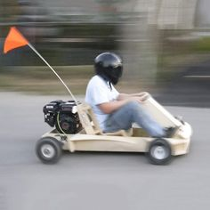 PlyFly Wooden Go-Kart by Flatworks -  . http://mtr.li/2y01Wl4 #musthave #musthaves #loveit
