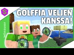 Haastoin Veljeni Ender-Golffiin! | Minecraft Minsuar Let's Play #61 - YouTube Lets Play, Minecraft, Let It Be, Games, Logos, Youtube, Logo, Gaming, Toys