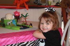 Zoo theme birthday party birthday girl!
