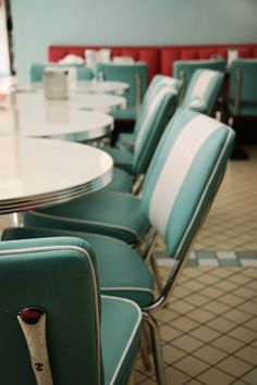 diner - love these chairs...