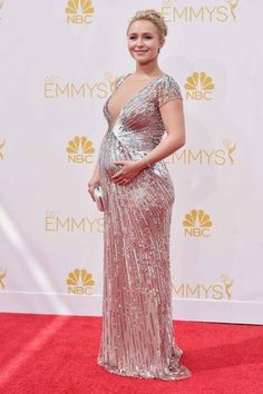 Hayden Panettiere | All The Red Carpet Looks From The 2014 Emmy Awards