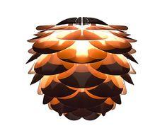 """Lamp """"Pine Mini Copper"""", Ø 34, wys. 27 cm"""