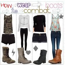 combat boots outfits - Google Search