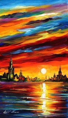I SAW A DREAM - LEONID AFREMOV by Leonidafremov.deviantart.com on @deviantART