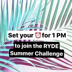 Did you miss out on sign ups for our RYDE Summer Challenge? We hear ya - and starting at 1 PM we will be allowing 25 MORE RYDERS to be added to the challenge . But be quick because we will be capping out the challenge at 100 participants!l. // Once you sign up for the challenge keep your eyes on your inbox tomorrow for an email disclosing all of the exclusive challenge perks and a full run down. PLUS don't forget to pick up your RYDE Summer Challenge identification card at the front desk…