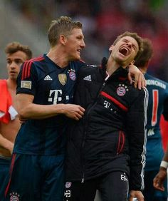 Tom and Basti  Ps: don't know why (or do know why :3) whenever I look at them, I think about milk hahaha