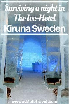 We were excited and curious to know if we could survive a night in the 'The #IceHotel #Kiruna #Sweden #Scandinavia