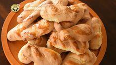 Κουλουράκια αμμωνίας πασχαλινά Apple Pie, Shrimp, Bread, Chicken, Desserts, Food, Youtube, Apple Cobbler, Tailgate Desserts