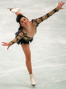 Kristi Yamguchi - I rooted for her during the Olympics, but I didn't really follow her until I found out she was from Fremont. Then I rooted for her again in DWTS.