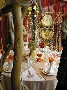 Theme African & Jungle - Event Dressing - UK 1