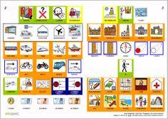 MATERIALES - Libros de Comunicación Aumentativa y Alternativa: Libro de viaje. http://arasaac.org/materiales.php?id_material=553