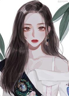Read ⚛️Gambar fan art from the story Kumpulan gambar fan art untuk cover wattpad by with reads. Pretty Anime Girl, Beautiful Anime Girl, Kawaii Anime Girl, Anime Art Girl, Manga Girl, Anime Girls, Korean Anime, Korean Art, Aesthetic Anime