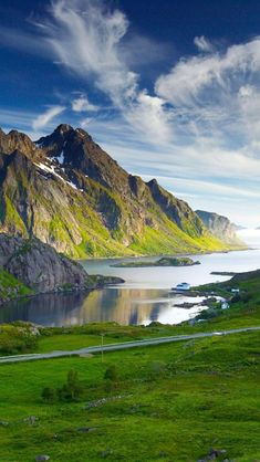 Nordic, Landscapes, Mount...oh yeah!!! That's beautiful.