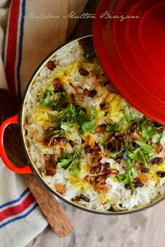 Malabar Mutton Biriyani | Step by Step Recipe | kurryleaves
