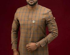 African Prom Suit, African Male Suits, African Dresses Men, African Clothing For Men, African Shirts, African Wear, African Attire, African Style, African Outfits