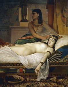 The Death of Cleopatra by Jean Andre Rixens (1874) (picture: Getty)