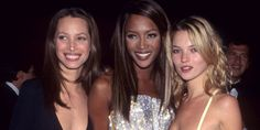 Naomi, Kate, Linda: The supermodels giving us the perfect lesson in 90s fashion