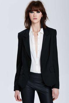 I love the look of this sleek menswear!