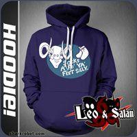 leo and satan hoodie