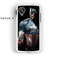 Capt America Fan Art for Nexus 4/Nexus 5 phonecases