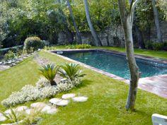 #piscine #béton #liner
