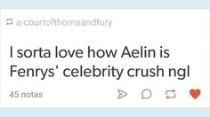 Aelin and Fenrys #tumblr