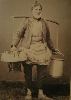Ice Cream Seller - Dondurmacı (#Istanbul 1910) #istanlook