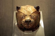 https://flic.kr/p/8at4em   Ritual Vessel   Ritual Vessel; lioness-head rhyton. Found at the Prehistoric site of Akrotiri, Santorini. Now it can be found in the Museum of Prehistoric Thera at Fira.
